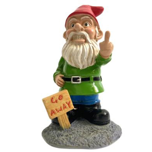 The Dismissing Gnome