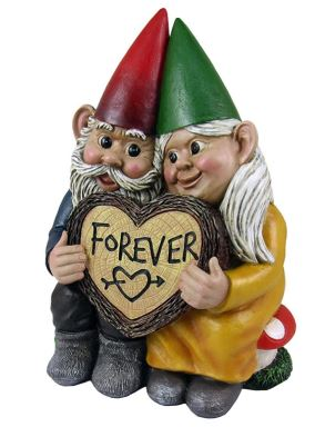 Gnome Couple Forever
