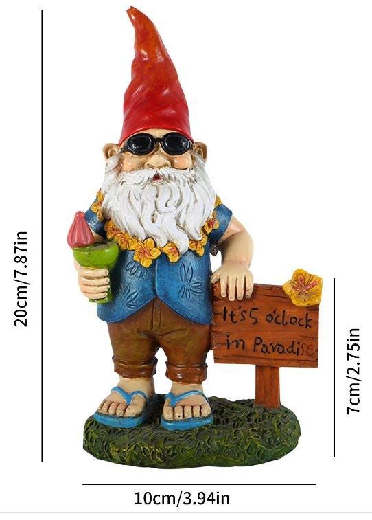 Vacation Garden Gnome