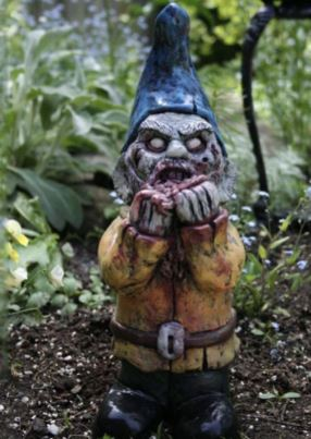 Zombie Gnomes eating guts