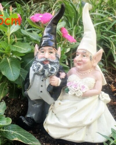 Gnome Couple Getting Married